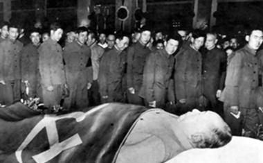 毛泽东逝世举国悲痛