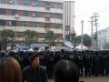 江西富士康千名工人上街游行 (15)