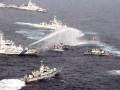 台保钓船送妈祖神像上钓鱼岛 途遭日舰水炮攻击