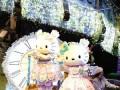 日本卡通形象Hello Kitty迎来40岁生日 粉丝庆祝